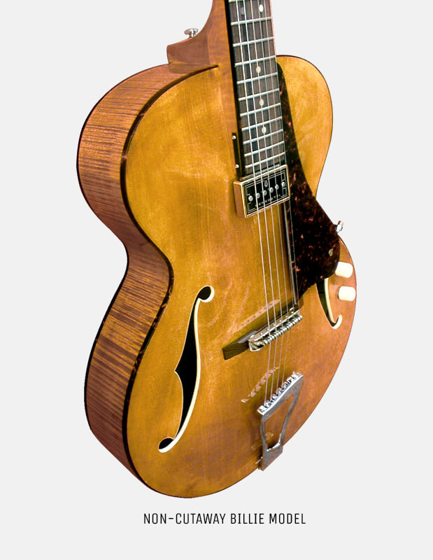 Sabolovic Billie archtop guitar is the perfect jazz guitar in our 16′ range.