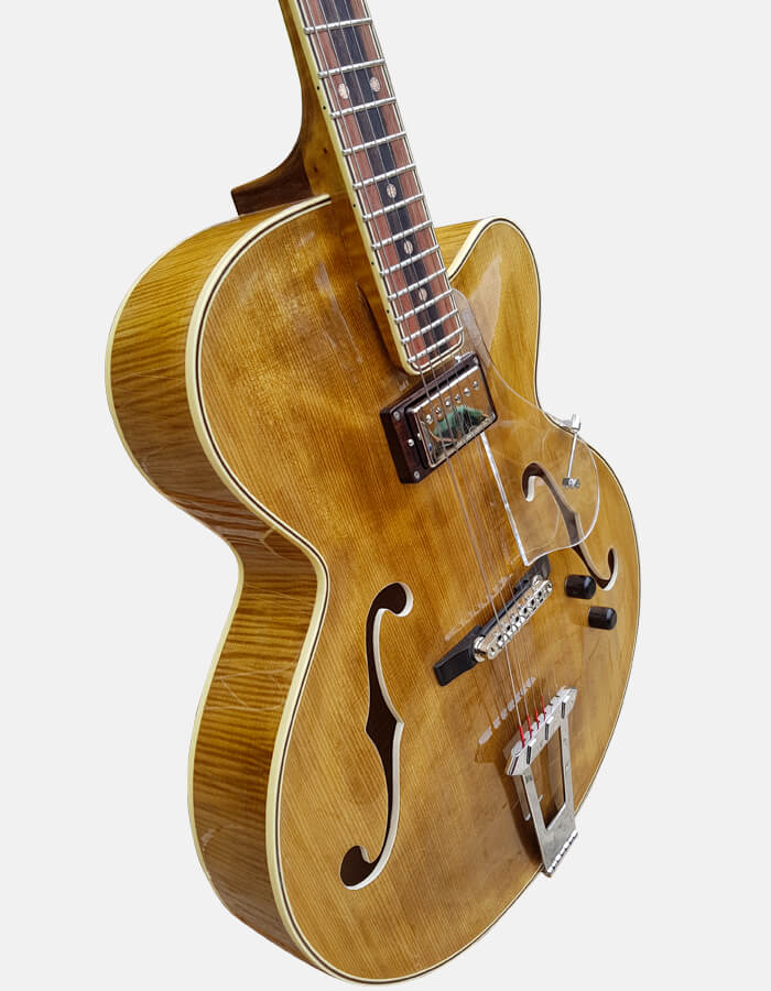 Jazz guitar Kashmir model - Sabolovic Luthier - france