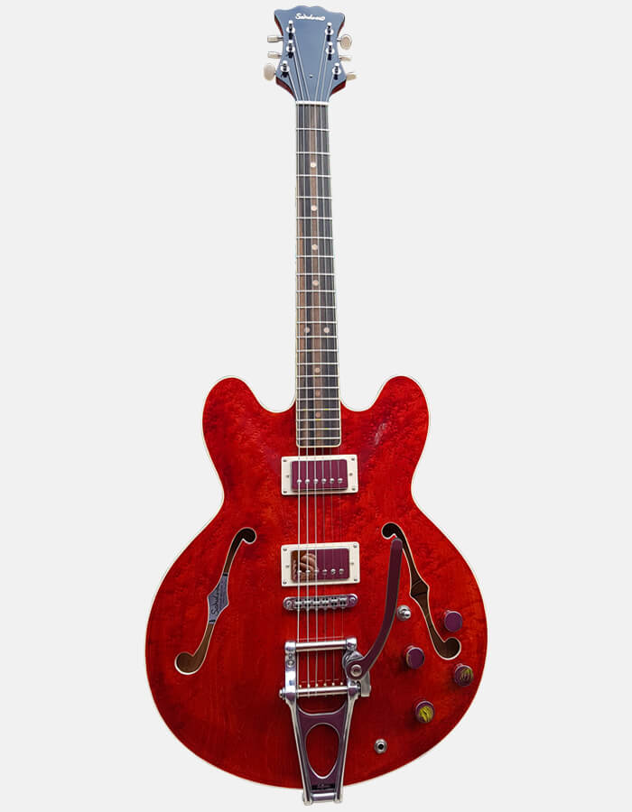 Sabolovic Guitars Jazz archtop Princess model