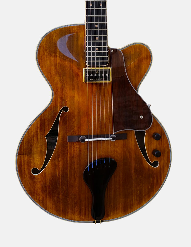 Sabolovic Billie archtop guitar is the perfect archtop jazz guitar in our 16′ range.
